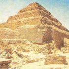 Pyramid of Djoser from Saqqar. Architect Imhotep. Dynasty III.