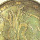 Flautist on the fabulous beast. Sasanian perio