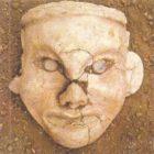 The head of the goddess. Hongshan. China. 3 thousand BC.