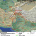 Map of Greco-Bactria I century BC