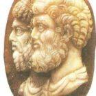 Marcus Aurelius and Lucius Verus. Cameo. 161-169.