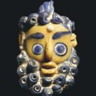 Phoenician or Carthaginian glass pendant
