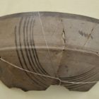 The remains of the vessel. 1000-600 BC.