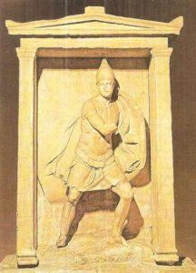 The Aristonaut Stele. Marble. IV century BC.