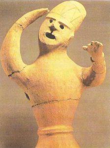 A dancer. Haniva. Kofun period. Mid-III-mid-VI centuries AD.